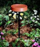 "12"" Heated Bird Bath w/Stand"
