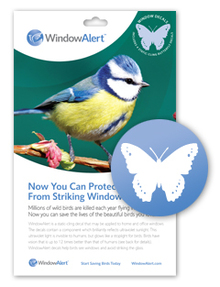 Window Collision Decals Products - Window decals for birds canada