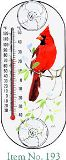 Cardinal Dogwood Thermometer
